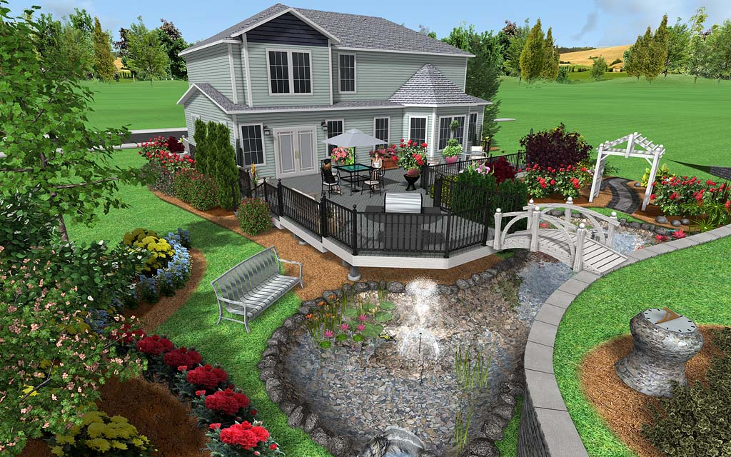 Landscaping Software Landscape Design Ideas Zone 8 Landscaping Software By Idea Spectrum