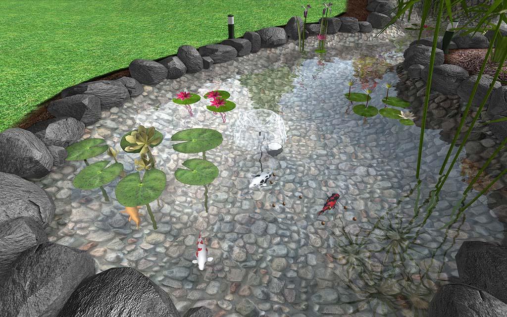 Landscape design software image gallery for Design a pond software